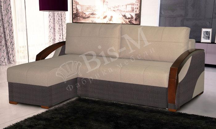 Твист  с оттоманкой - мебельная фабрика Бис-М. Фото №2. | Диваны для нирваны