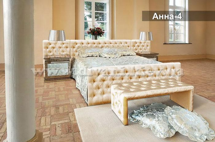 Анна-4 кровать - мебельная фабрика Ливс. Фото №2. | Диваны для нирваны