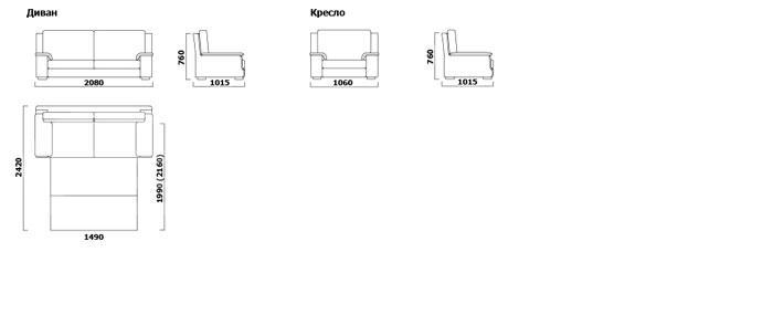 Самсон-5 - мебельная фабрика Ливс. Фото №11. | Диваны для нирваны